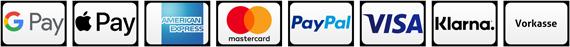 Zahlungsarten im Full Balance Online Shop