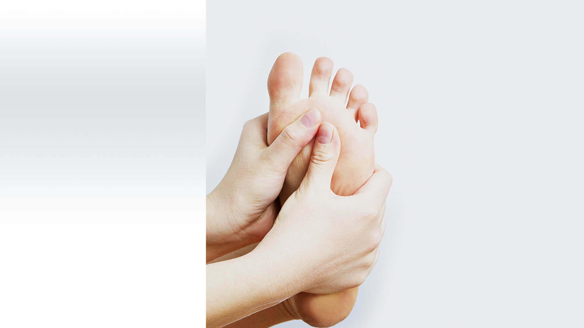 Fußreflexzonen Massage täglich selber durchführen