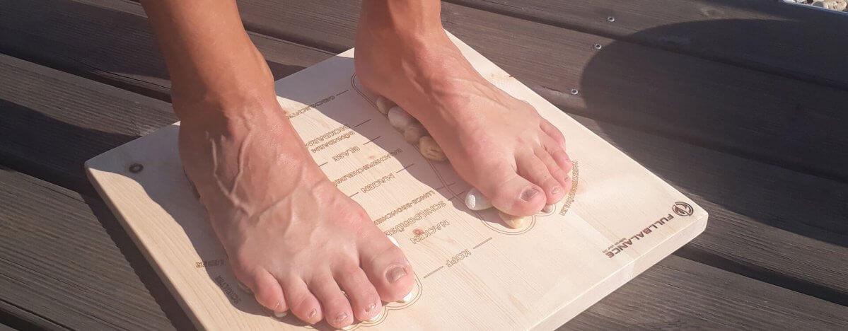 Fußreflexzonenmassage Brett für zu Hause Maßanfertigung