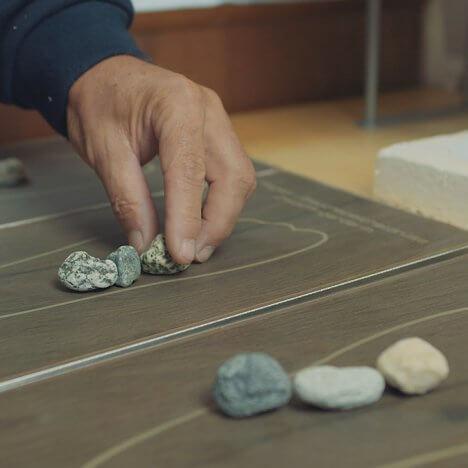 Positionierung Tile & Stone