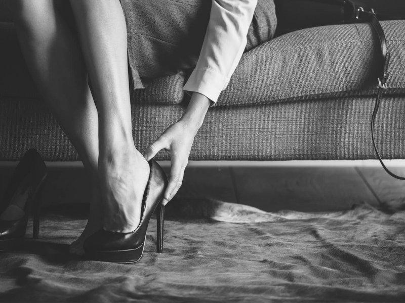 Schmerzen in High Heels – Massage der Reflexzonen kann helfen