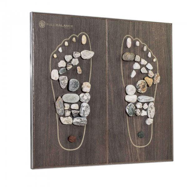 Fußreflexzonenmassage Grundplatte Tile & Stone Fliese Seiten Ansicht