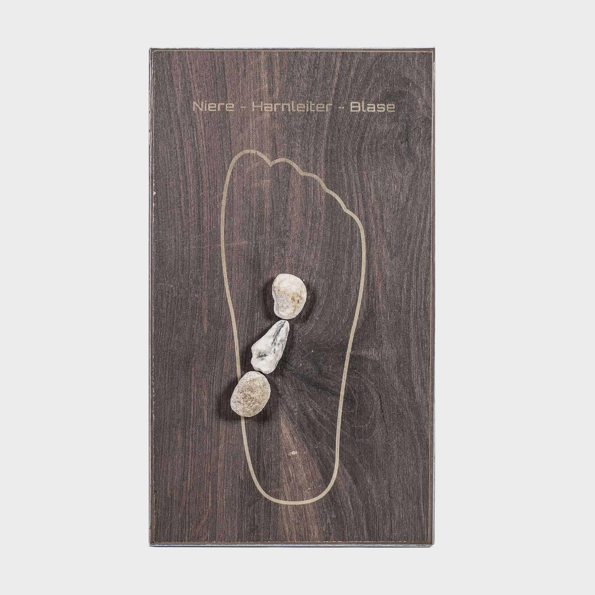 Niere, Harnleiter, Blase Tile & Stone Fußreflexzonenmassage