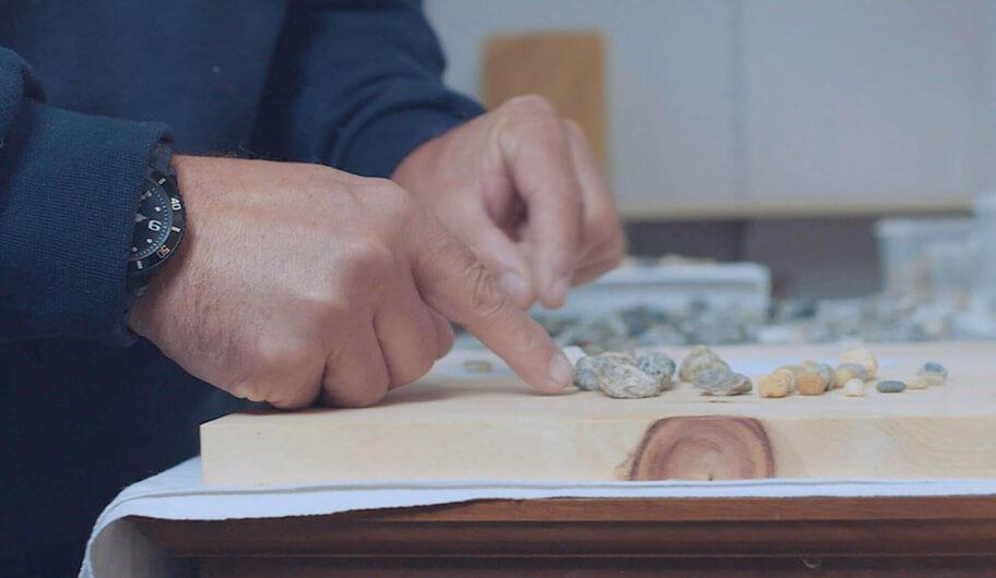 Fußreflexzonenmassage Brett Handarbeit aus Österreich