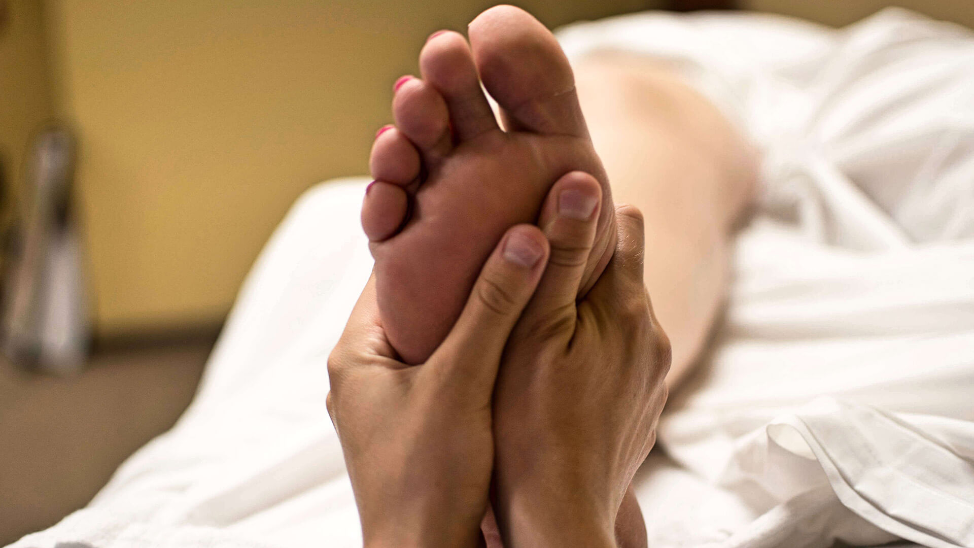 Fußreflexzonen Punkte - ganzheitliches Wohlbefinden steigern