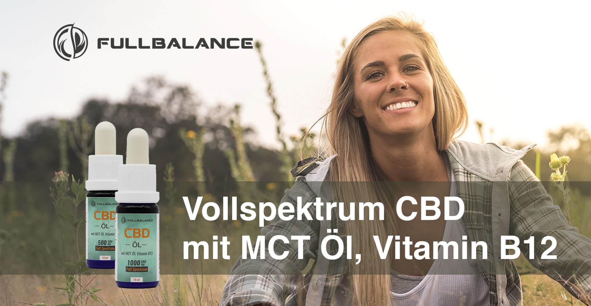 Vollspektrum CBD Öl - Full Balance