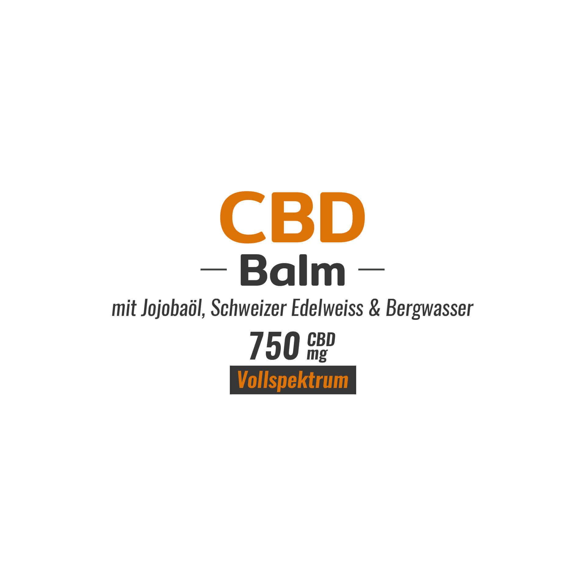 CBD Balm 750mg Cannabidiol