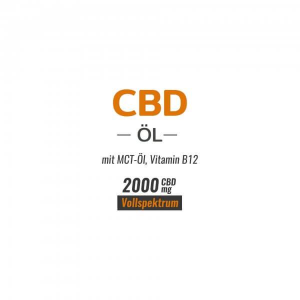 CBD Öl 20% Cannabidiol