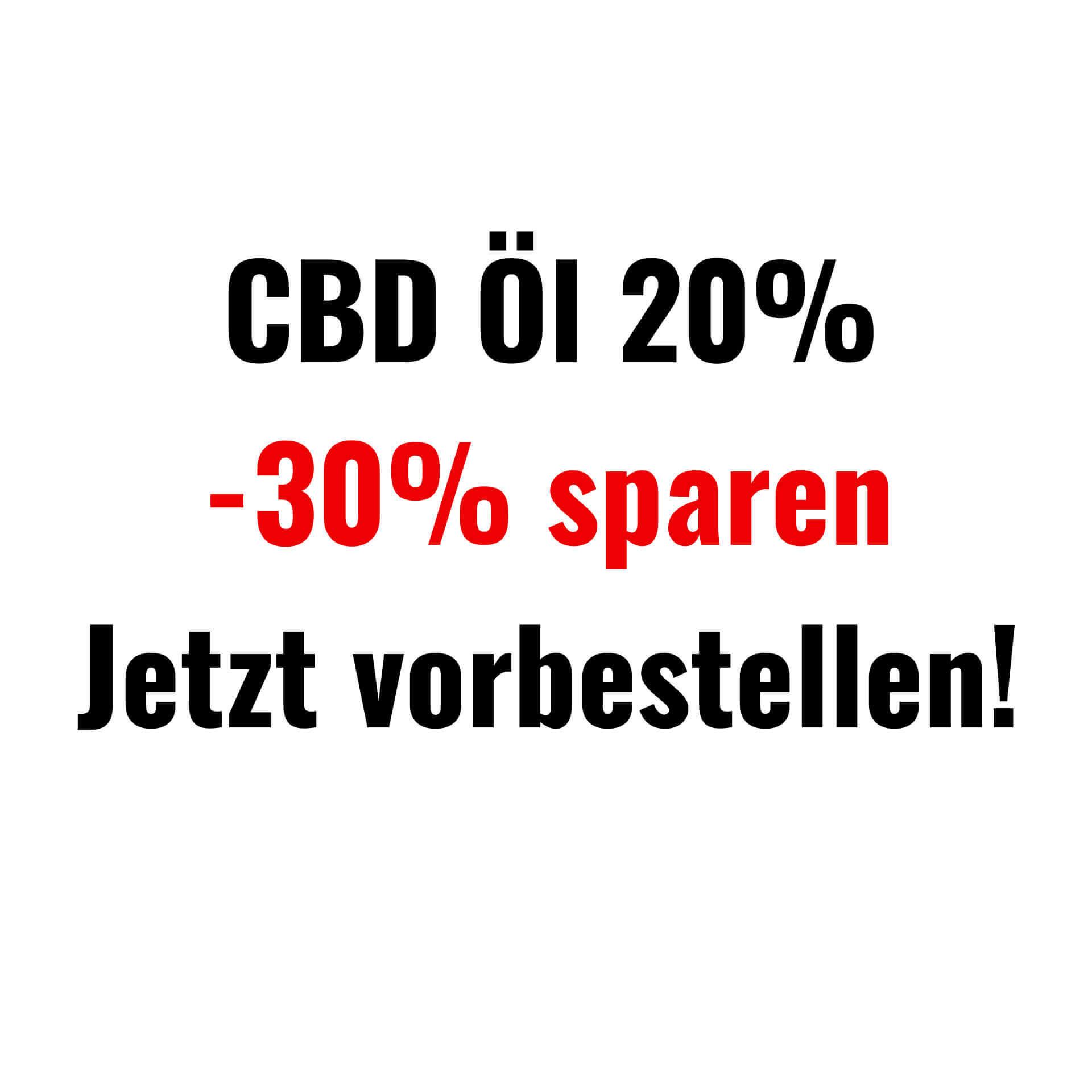CBD Öl 20% Vollspektrum