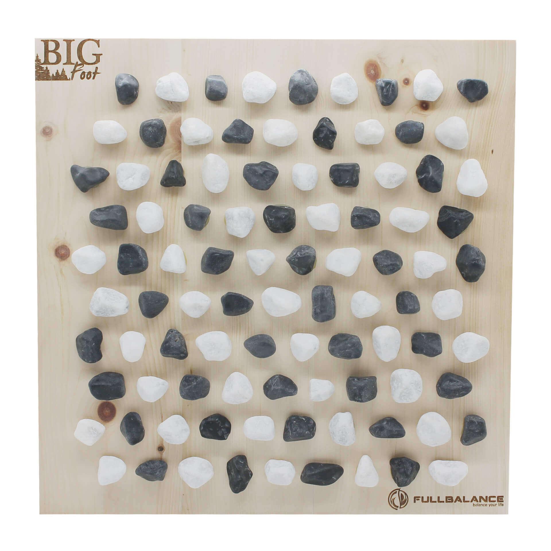 Reflexzonenmassage Brett - Carrara Marmor & Zirbenholz