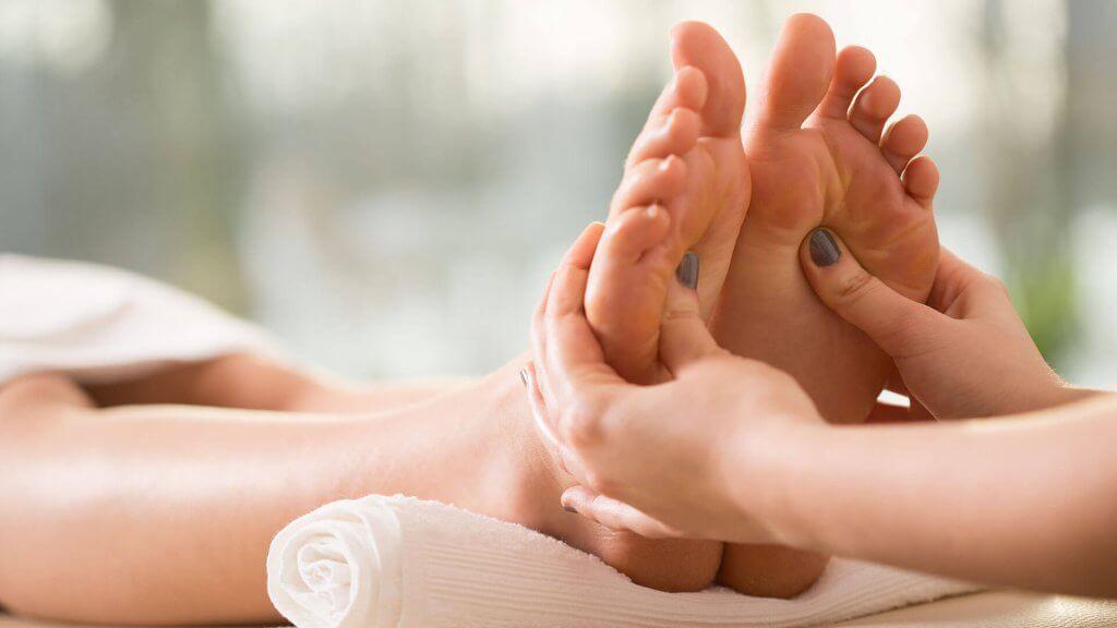 Die Drucktherapie für Zuhause - Fußreflexzonen Punkte