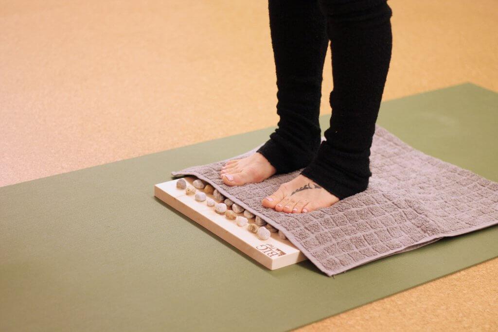 Fußreflexzonen Massage zur Regeneration nach dem Laufen
