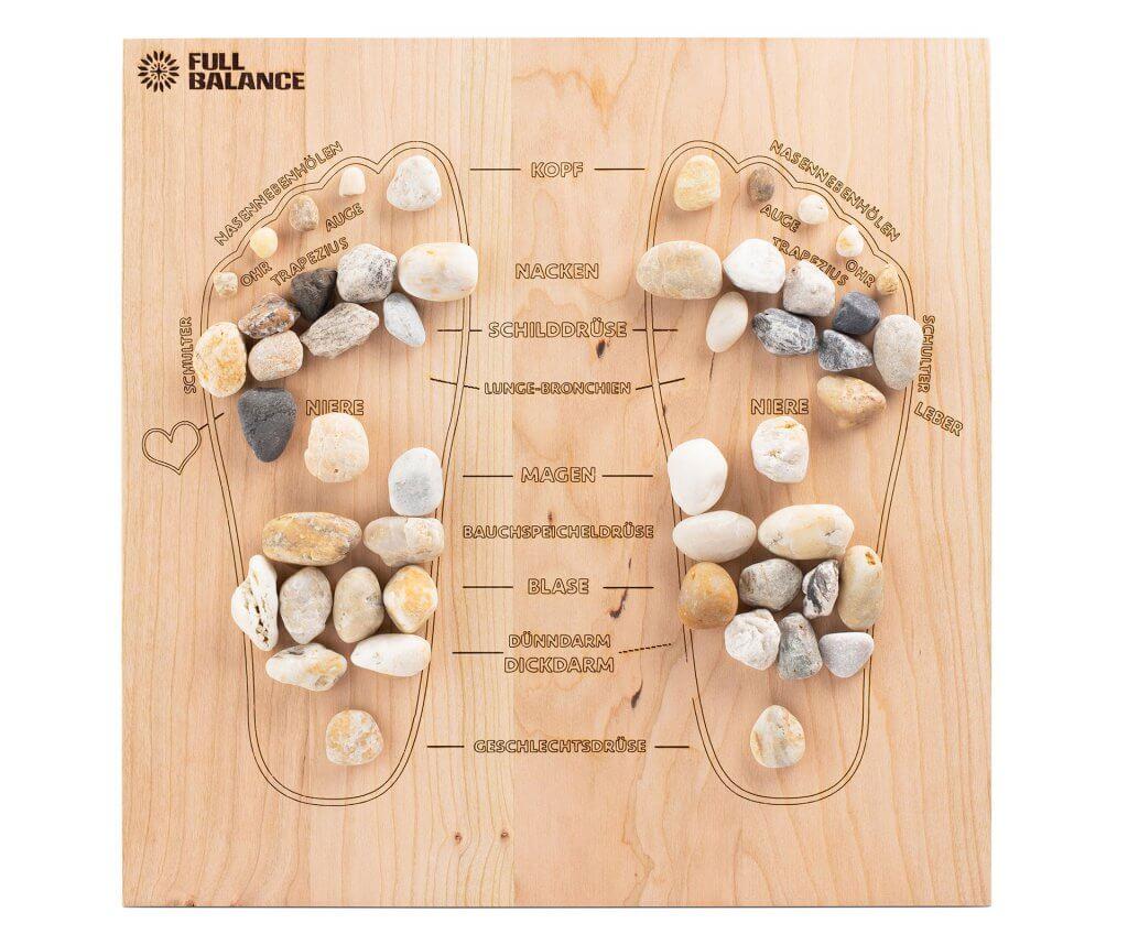 Fußreflexzonen Massage Stimulation bestimmter Organe