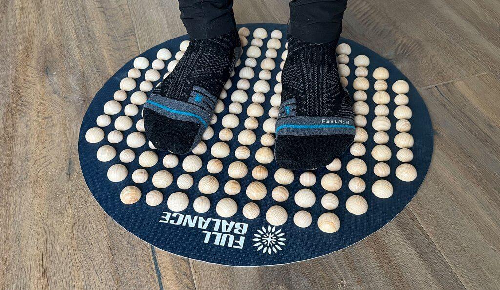 Massagematte für die Füße